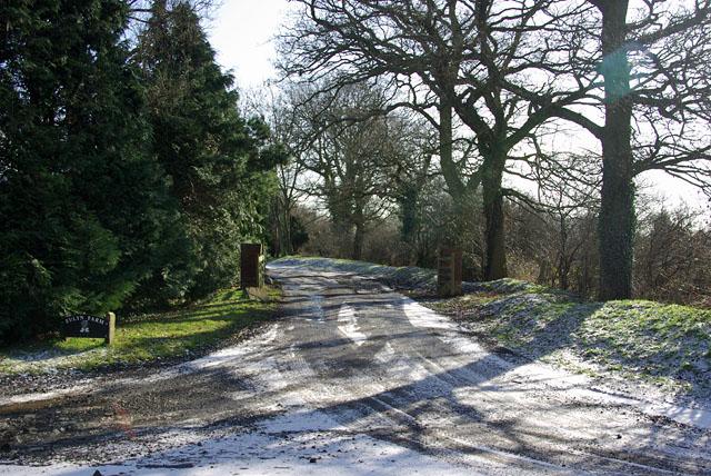 Entrance, Eulyn Farm