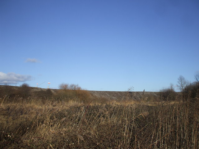Bund around Bowleaze Common