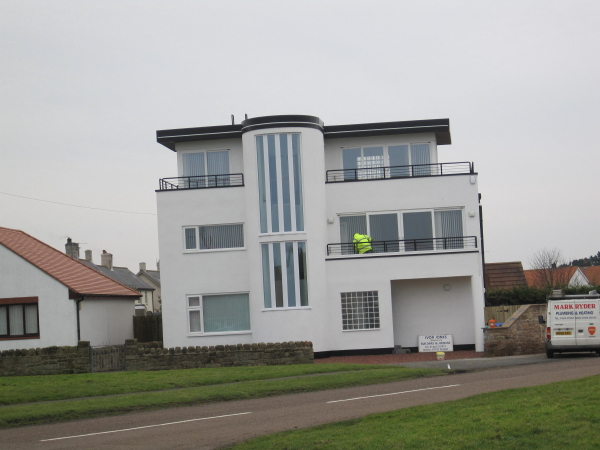 Art Deco House At Beadnell