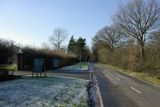 Entrance, Horne Park Golf Centre