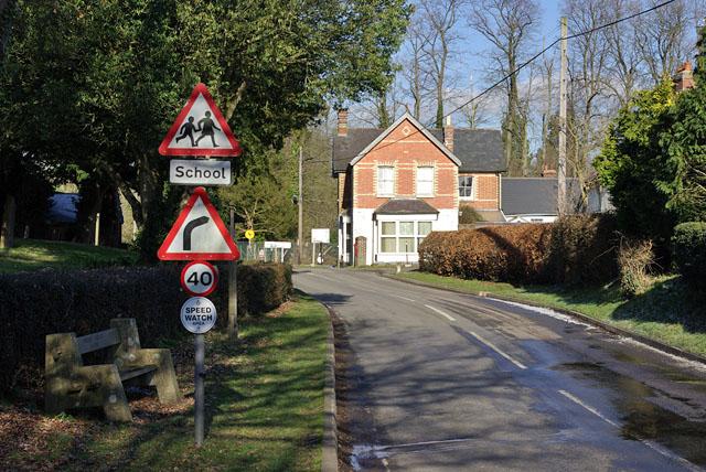 Horne, village centre