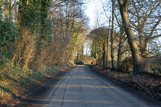Going up Casthorpe Hills.