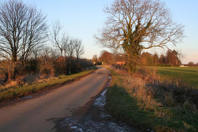 Coming into Barrowby