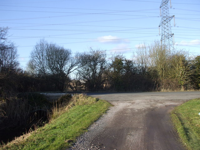 Start of the track to Grangefield Farm