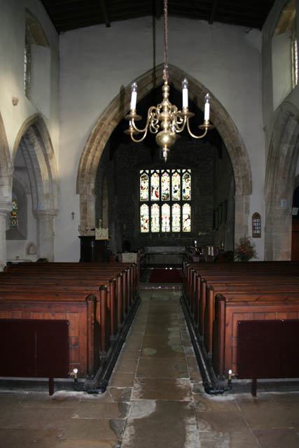The nave in St Andrew's Church, Great Easton