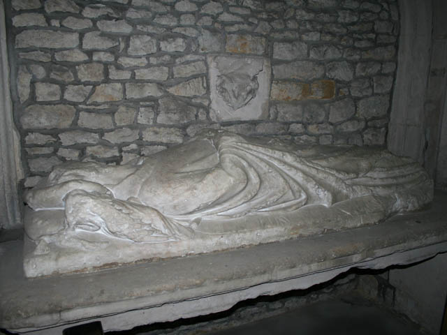 Effigy Of Richard de Sprydlington, Great Easton