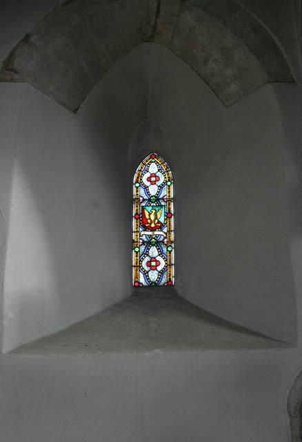 Memorial window, St Andrew's, Great Easton