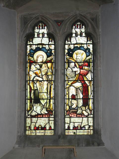 Commemorative window, St Andrew's, Great Easton