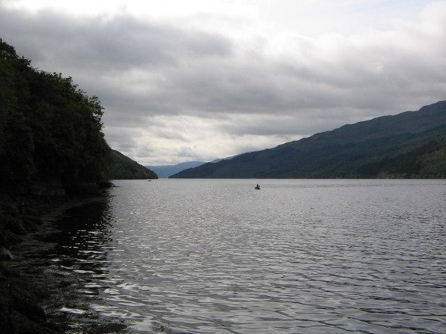 Mackerel fishing on Loch Long