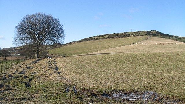Former field boundary, Little Ballo