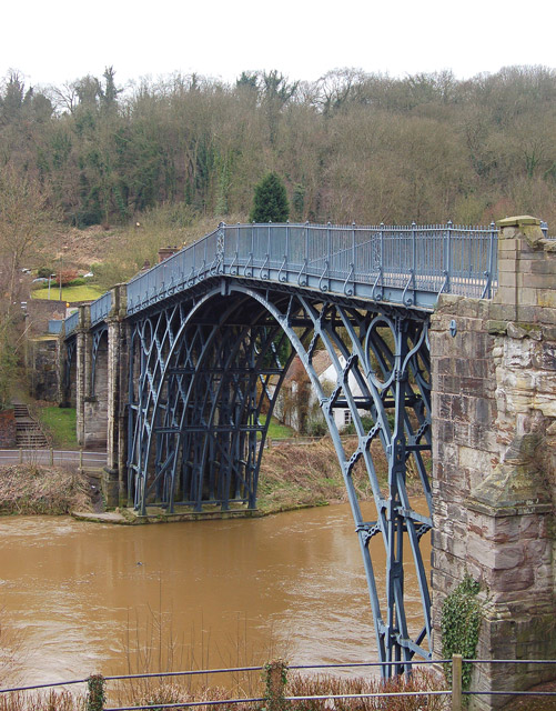Looking across the river at Ironbridge