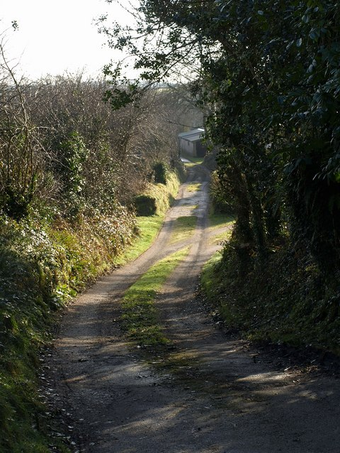 Track at Trebell Green