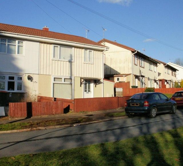 Steel-framed houses, Blackett Avenue, Malpas