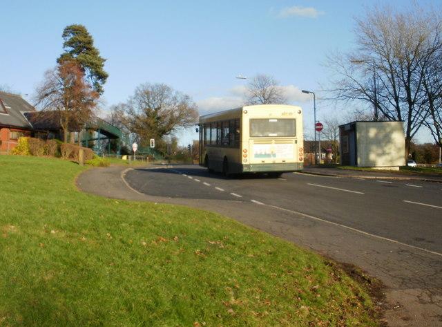 Bus route 19, Russell Drive, Malpas, Newport