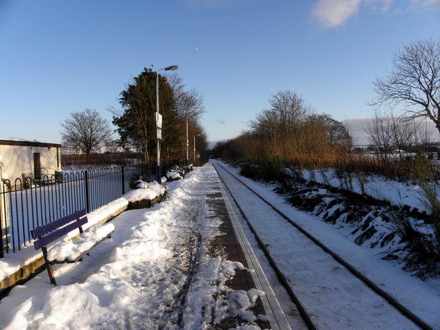 Alness Railway Station