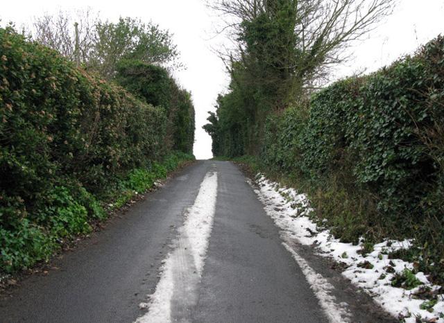 View along Way Hill