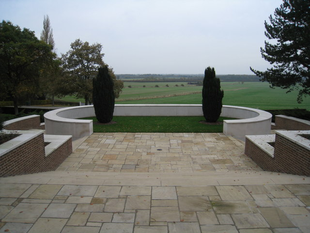 View from Madingley cemetery