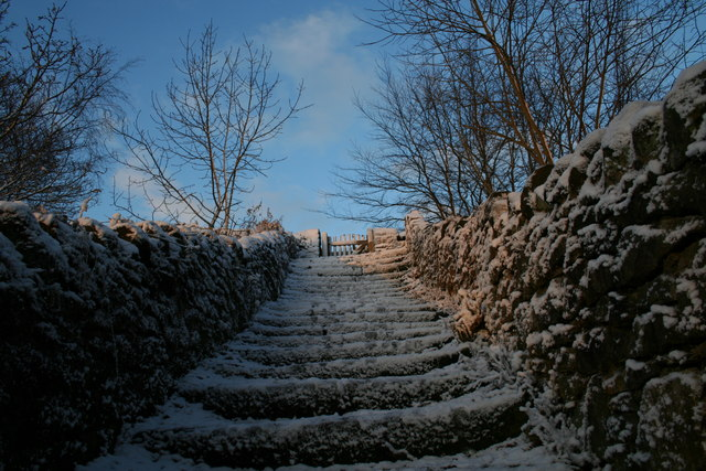Staircase to the Tors