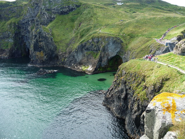 Antrim Coast from Carrick-a-Rede Island