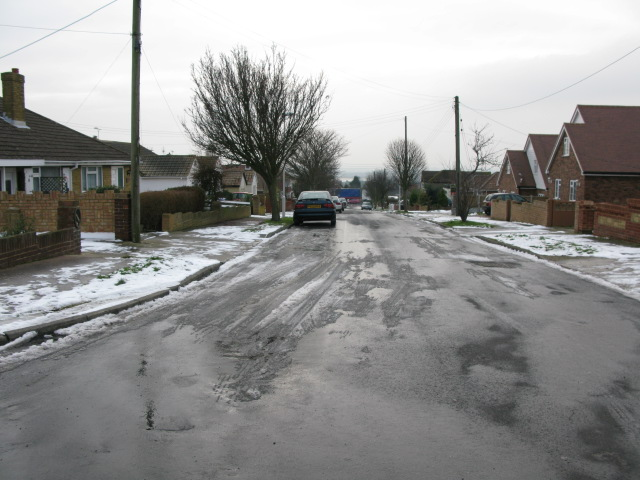 Looking South along King Arthur Road