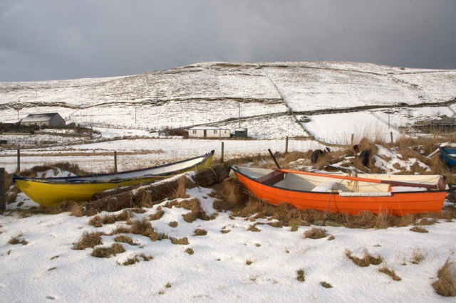Boats, and The Bungalow, Norwick