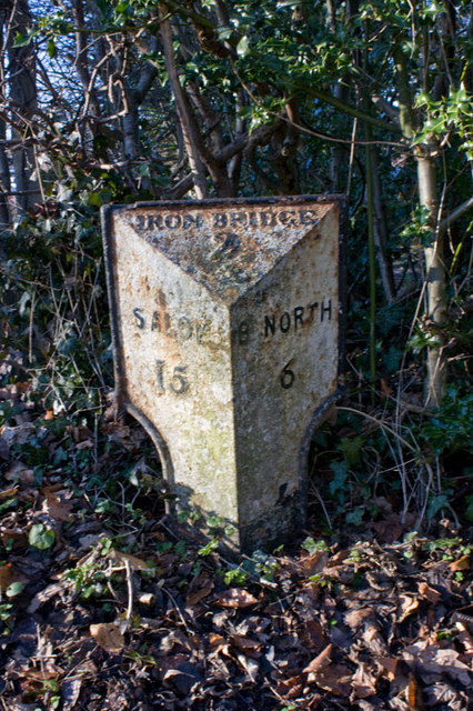 Milepost, Broseley