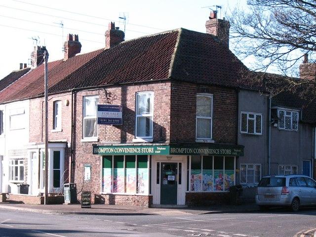 Village shop, Brompton