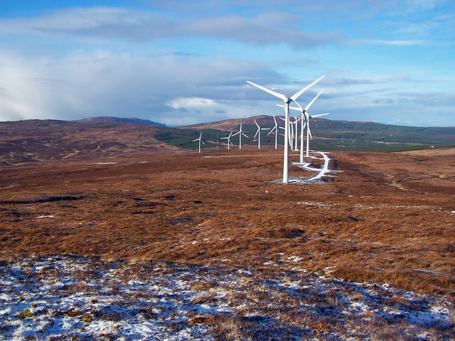 Ben Aketil wind farm