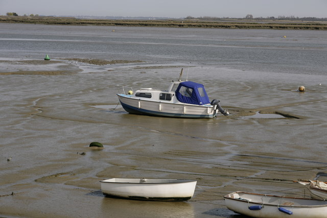 Tide out, on the estuary