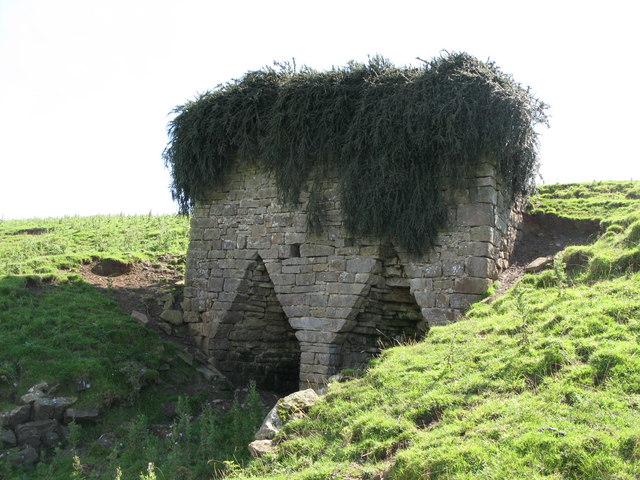Lime kiln near Great Lonborough (2)