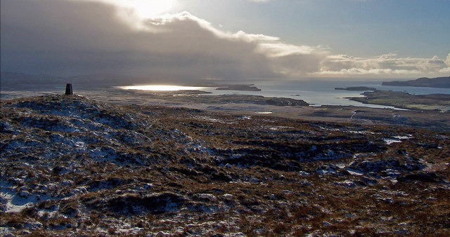 South west from Ben Aketil