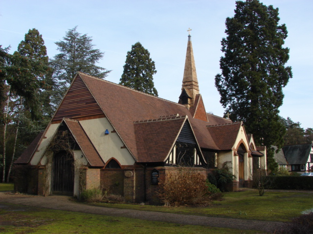 Shrine of St Edward the Martyr, Brookwood