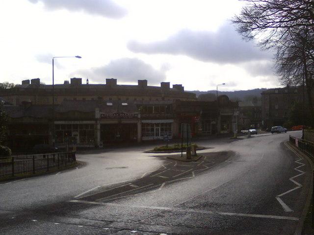 Station Road Roundabout, Buxton