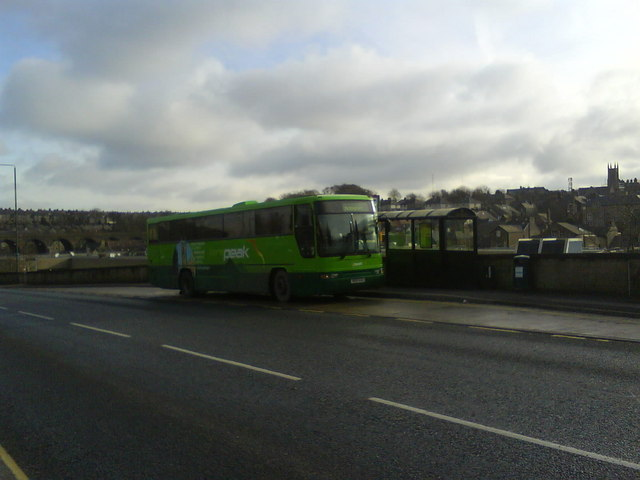 Bus Stop on Station Road, Buxton