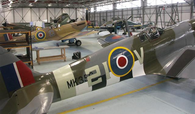Battle of Britain Memorial Flight hangar