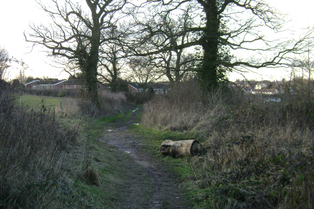 Mill Lane, looking west to Cubbington