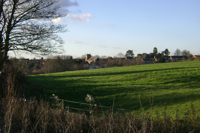 Cubbington from Mill Lane