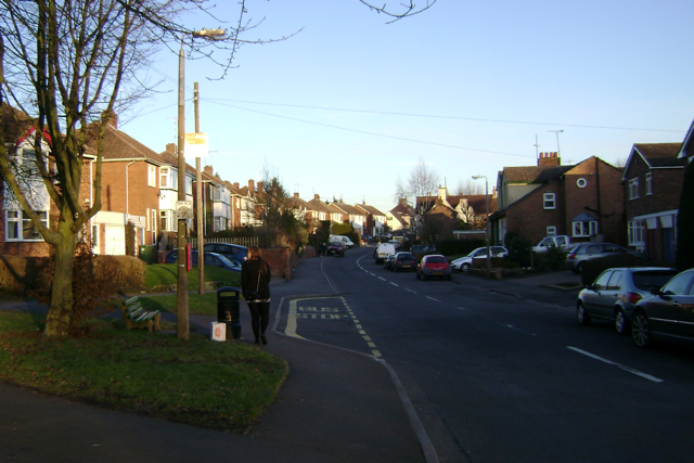 West end of Queen Street, Cubbington