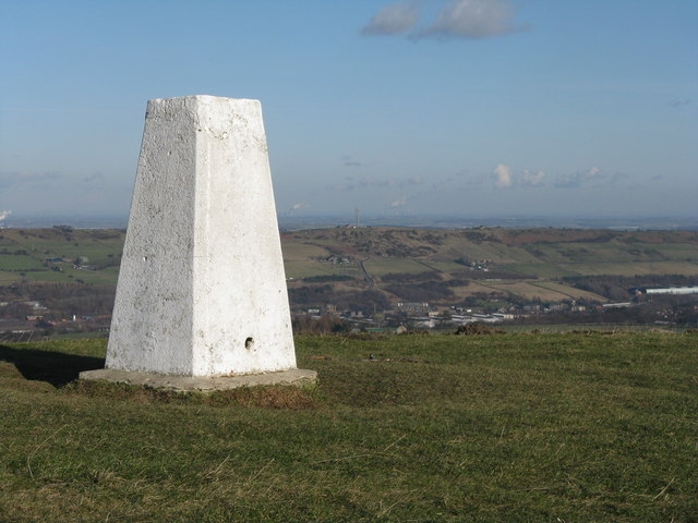 Trig.Point on Whitwell Moor