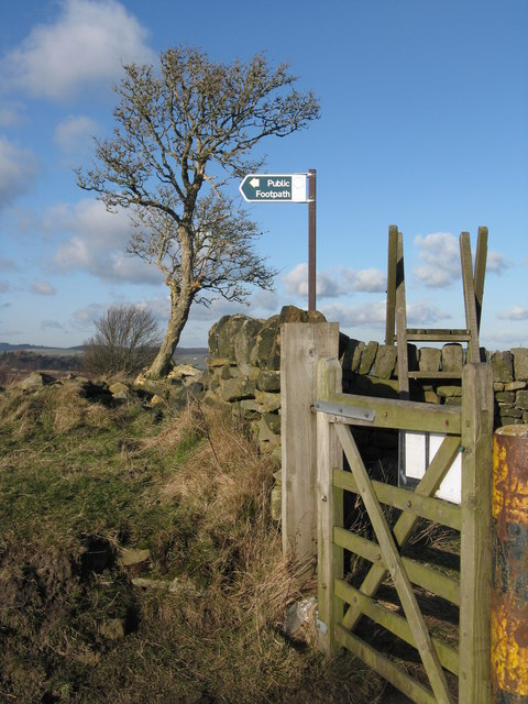 Gates and signs
