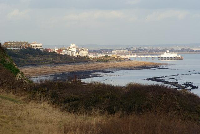 View Towards Eastbourne Beach