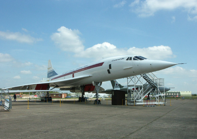 The fastest Concorde, pre-production aircraft G-AXDN