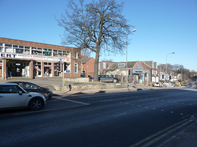 Traffic lights on Abbeydale Road
