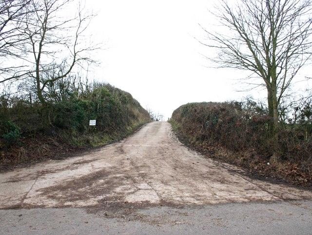 Entrance to Daisy Hill Farm