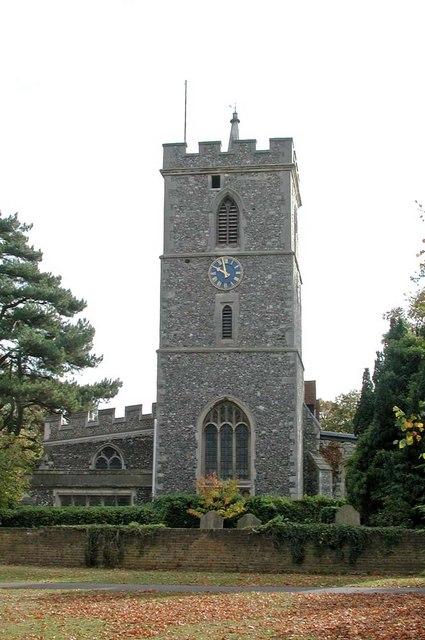 St Mary, Hayes
