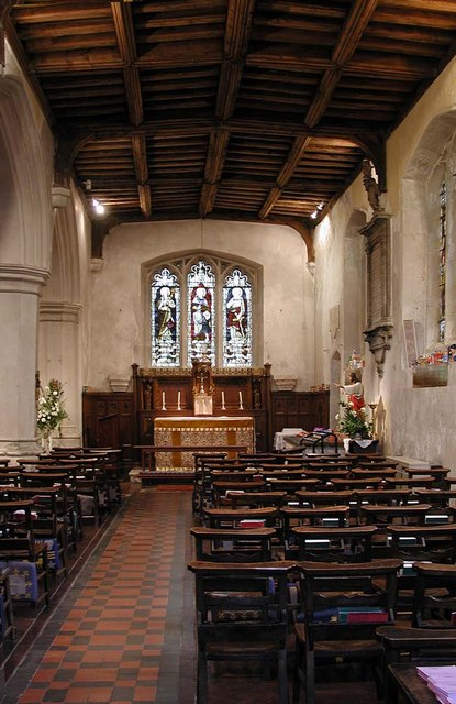 St Mary, Hayes - South chapel