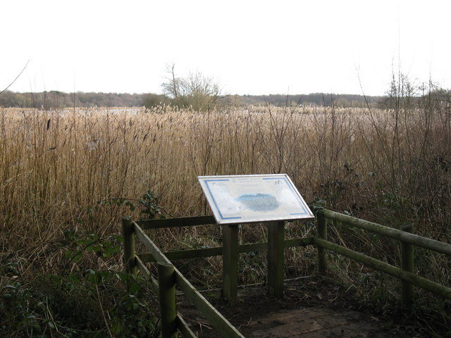 Grasmere Marsh Signboard at Fleet Pond