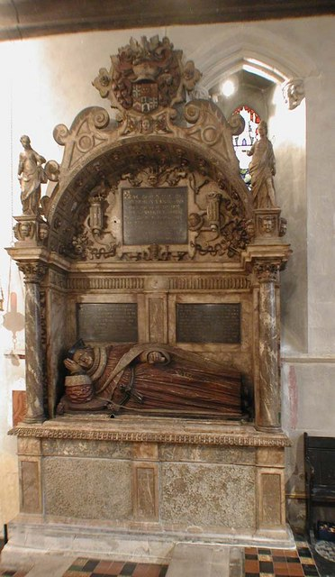 St Mary, Hayes - Monument