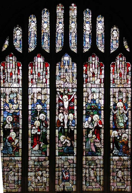 St Mary, Hayes - East window