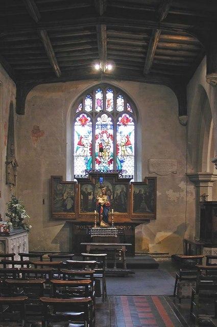 St Mary, Hayes - North chapel